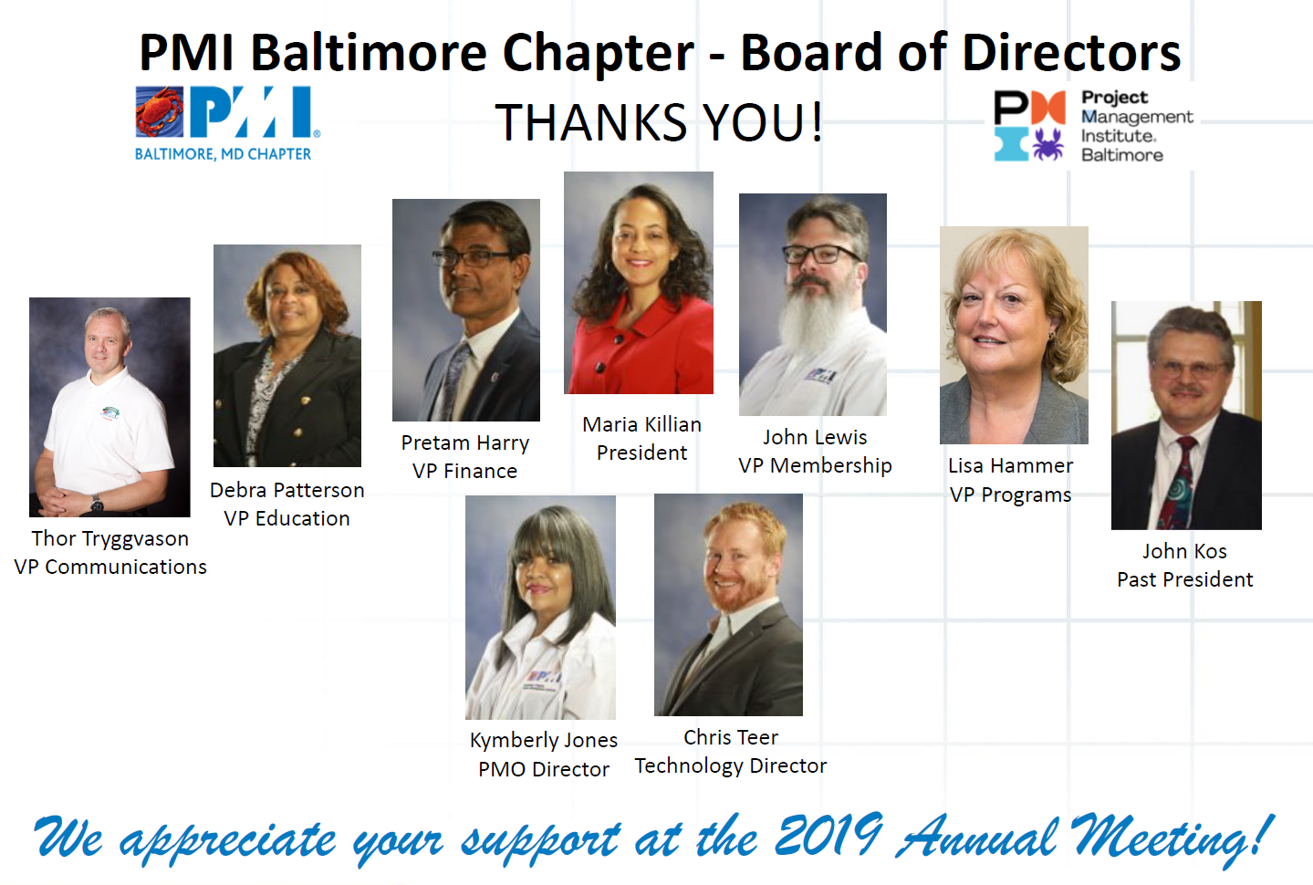 Thank you - Annual Meeting 2019